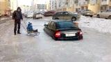 Keď v zime zaparkujete na zlom mieste