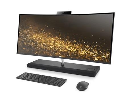 HP na CES vsadilo na zahnuté monitory, ukázalo Omen monitor a aj all-in-one PC