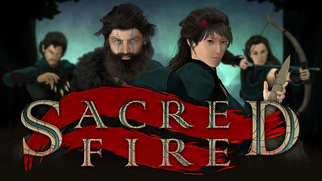 Slovenský titul Sacred Fire spustil Kickstarter