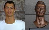 Ronaldo a jeho socha