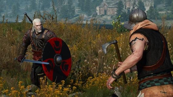 Geraltovi v Zaklínačovi 3 môžete teraz vďaka modu pridať štíty