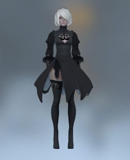 Ako vznikala 2B, hrdinka Nier: Automata?