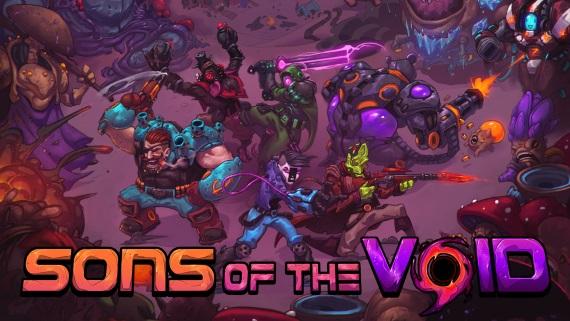 2D roguelite záležitosť Sons of the Void dorazila na Kickstarter a Steam Greenlight