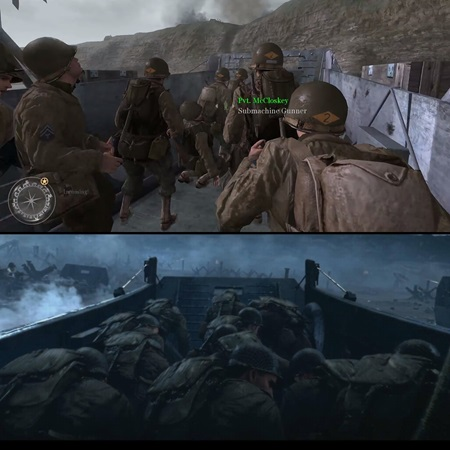 Jeden záber ukazuje grafickú evolúciu Call of Duty