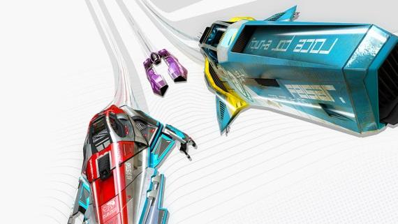 Porovnanie grafiky WipEout hier na PS3 a PS4 Pro