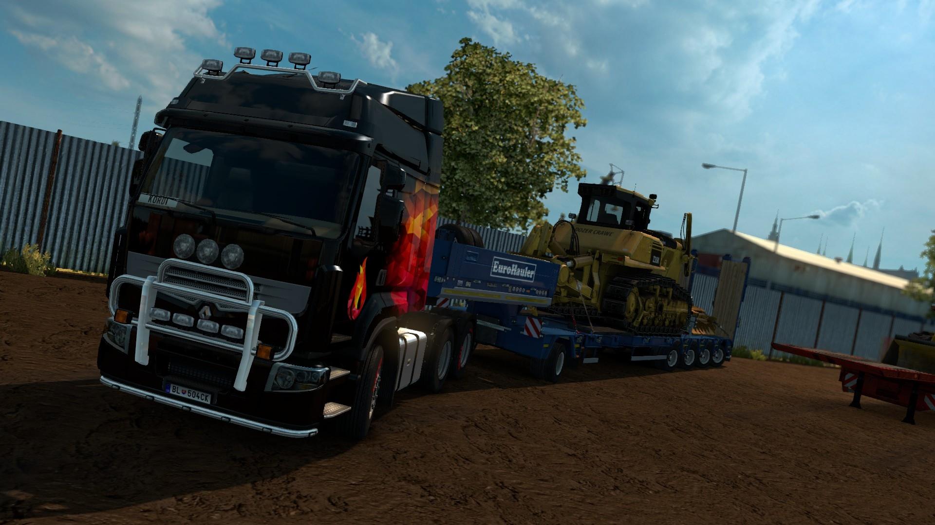ak je euro truck simulator 2 heavy cargo pack sector. Black Bedroom Furniture Sets. Home Design Ideas