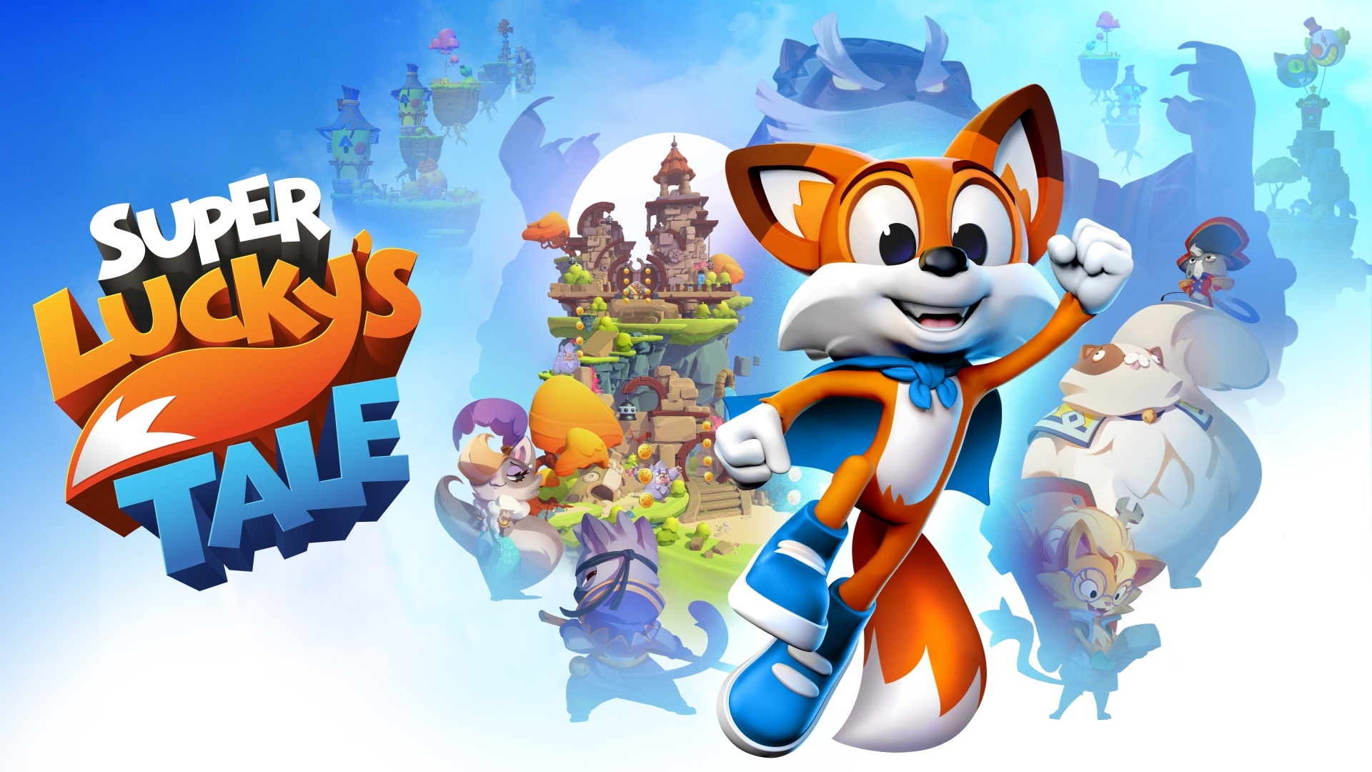 Super Lucky S Tale Pc Xbox One Win10 Xbox One X Hra Od Playful Corp Sector
