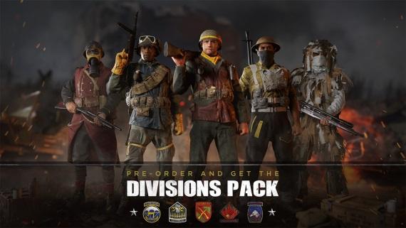 COD WWII ukazuje multiplayerové divízie a mapy