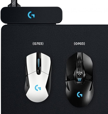 Najnovšia podložka pod myš od Logitechu dokáže nepretržite nabíjať nové herné myši