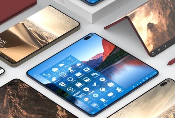 Bude takto vyzerať Surface phone?