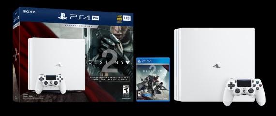 Balenie PlayStation 4 Pro v bielej verzii s Destiny 2 predstavené