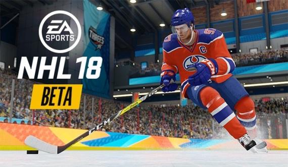 NHL 18 dostane betu, už sa môžete registrovať