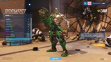 Ukážka všetkých Doomfistových skinov, emotov, póz a ďalších itemov