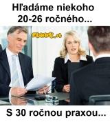 Požiadavky v zamestnaní