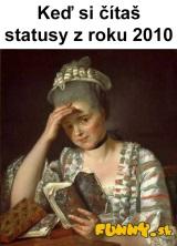 Čítanie starých statusov