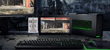 AMD teasuje externý gpu box, ktorý premení malé notebooky na 4K monštrá