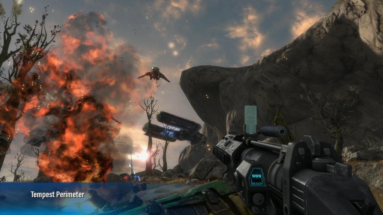 Halo: Reach - recenzia - hra   Sector