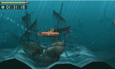 fede23e55 Pod hladinou mora hra pripomína malé akvárium.