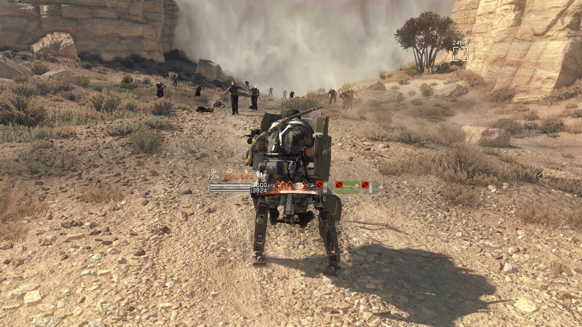 Konami upozorňuje hráčov, že Metal Gear Survive nie je 23.2.2018.