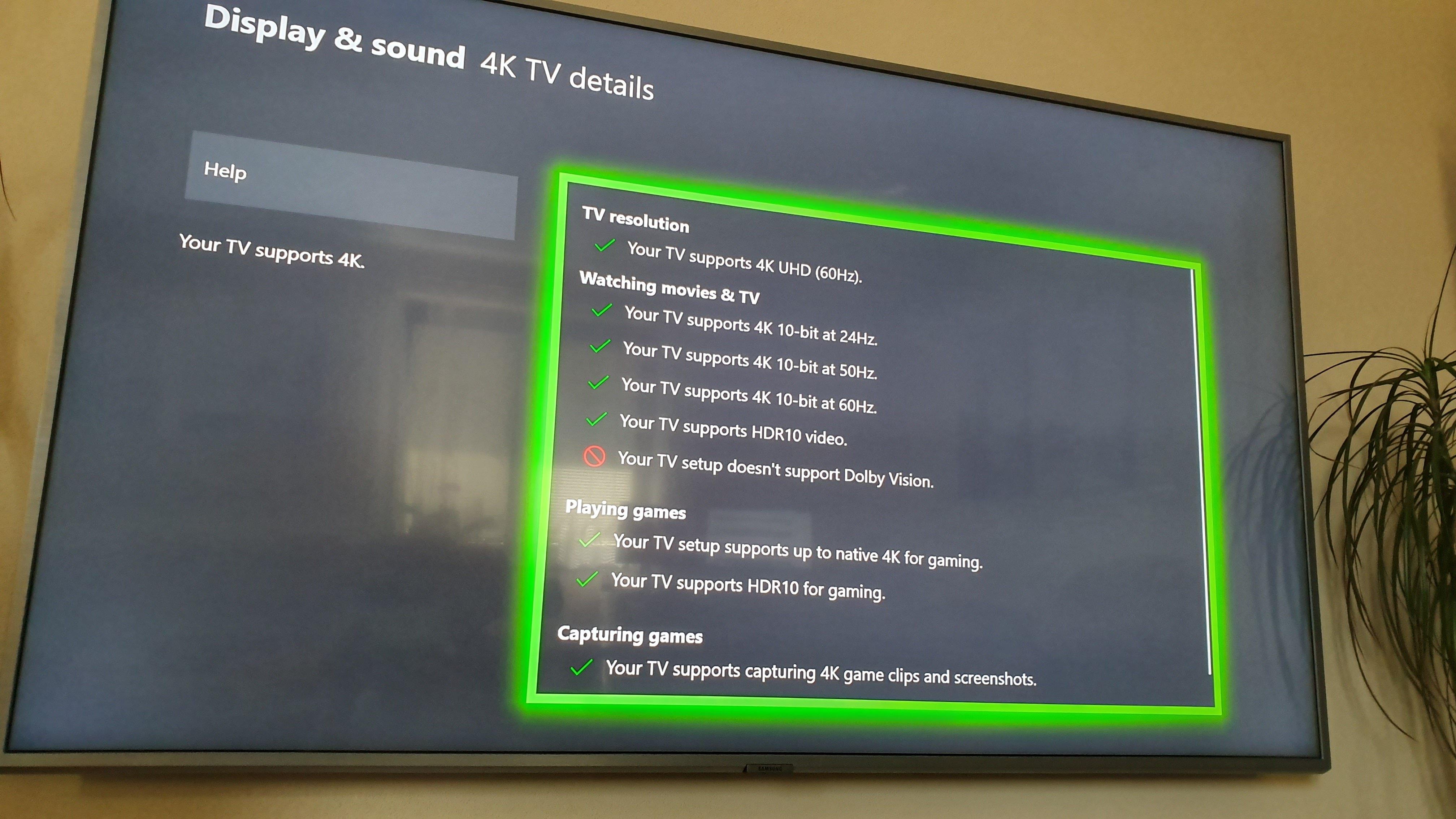 fbb6194e1 Ako zvyčajne je tu plná podpora Xbox funkcii až na Dolby Vision HDR, ktoré  Samsung nepodporuje